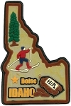Idaho Boise Multi Color Fridge Magnet