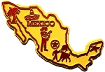 Mexico Fridge Magnet