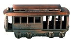 San Francisco Trolley Die Cast Metal Collectible Pencil Sharpener