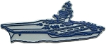 Navy Aircraft Carrier Fridge Magnet