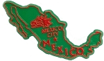 Mexico Country Souvenir Fridge Magnet