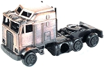 Semi Truck Die Cast Metal Collectible Pencil Sharpener