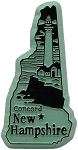 New Hampshire Concord United States Fridge Magnet
