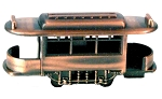 Railroad/Trolley Open End Car Die Cast Metal Collectible Pencil Sharpener