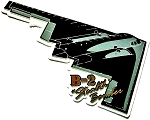 Air Force B-2 Stealth Bomber Jet Fridge Magnet