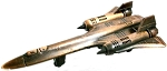 SR-71 Blackbird Die Cast Metal Collectible Pencil Sharpener
