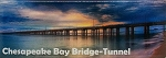 Chesapeake Bay Bridge-Tunnel Panaramic Fridge Magnet
