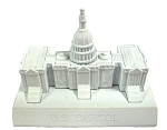 United States Capitol Die Cast Metal Collectible Pencil Sharpener