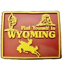 Wyoming Find Yourself In Wyoming Fridge Magnet