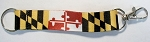 Maryland Flag Keychain Lanyard Design 10