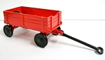 Red Wagon Die Cast Metal Collectible Pencil Sharpener Design 1