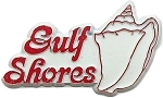 Gulf Shores Alabama Fridge Magnet
