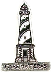 Cape Hatteras North Carolina Lighthouse Delaware Hat Tac or Lapel Pin