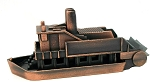 Sight-Seeing Paddle Boat Die Cast Metal Collectible Pencil Sharpener