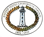 United States Lighthouse Service 1852-1939 Fridge Magnet