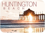Huntington Beach Pier California Fridge Magnet