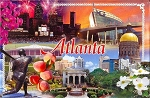 Atlanta Georgia Photo Fridge Magnet