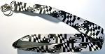 Maryland Flag Greyscale Lanyard Design 10