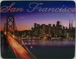San Francisco Bay Bridge 3D Fridge Magnet