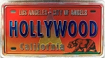 Los Angeles California City of Angels Foil Panoramic Dual Sided Fridge Magnet