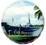 USS Bowfin Pearl Harbor Hawaii Picture Fridge Magnet