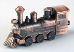 Steam Locomotive Die Cast Metal Collectible Pencil Sharpener Design 1