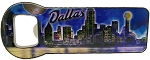 Dallas Texas Metal Bottle Opener Fridge Magnet
