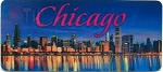 Chicago The Windy City 3D Fridge Magnet