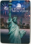 New York City Statue of Liberty 3D Fridge Magnet