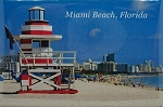 Miami Beach Florida Fridge Magnet