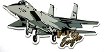 Air Force F-15 Eagle Fighter Jet Fridge Magnet