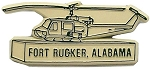 Fort Rucker Alabama Helicopter Fridge Magnet