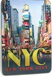 New York City Times Square 3D Fridge Magnet