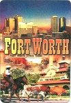 Fort Worth Texas 3D Fridge Magnet