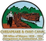 Chesapeake and Ohio Canal Fridge Magnet