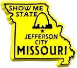 Missouri The show Me State Fridge Magnet