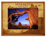 Monument Valley Utah Laser Engraved Wood Picture Frame (5 x 7)
