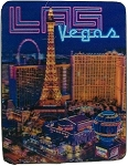 Las Vegas Paris Ballys High Roller 3D Fridge Magnet