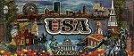 Boston USA Montage Foil Panoramic Fridge Magnet