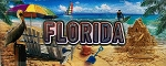 Florida Foil Panoramic Fridge Magnet