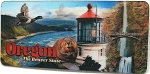 Oregon 3D Fridge Magnet