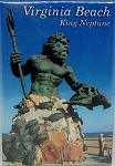 Virginia Beach King Neptune Fridge Magnet