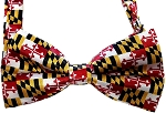 Maryland Flag Bow Tie