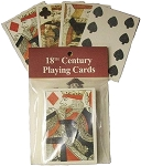 18TH CENTURY PLAYING CARD DECK