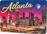 Atlanta Georgia 3D Fridge Magnet
