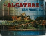 Alcatraz The Rock 3D Fridge Magnet