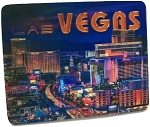 Las Vegas Twilight Strip 3D Fridge Magnet
