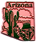 Arizona Phoenix United States Fridge Magnet