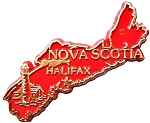 Nova Scotia Halifax Canadian Fridge Magnet