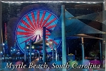 Myrtle Beach Boardwalk Fridge Magnet